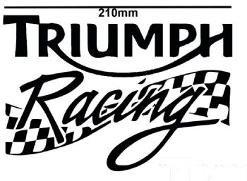 Triumph Racing Motorbike Stickers Decals Fairings Motorcycle 22 colours